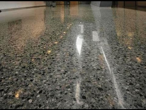 Profloor ( Polished concrete floor) The future flooring system by Delta Misr