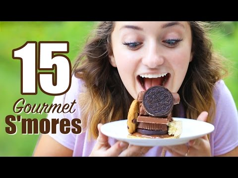 Video 15 Gourmet Smores Recipes | Brooklyn and Bailey