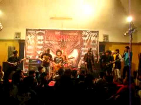 Athematic feat Afif (T.O.D) - Manufaktur Replika Baptis (DeadSquad Cover) Live at Konspirasi 3rd
