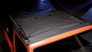 Bestop: Safari-Style Sun Bikini Top for '07-'17 Wrangler JK