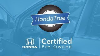Honda Certified Pre-Owned Vehicles Program Overview