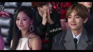 Taehyung ♡ Tzuyu TaeTzu Moments compilation-7(2019TFMA)