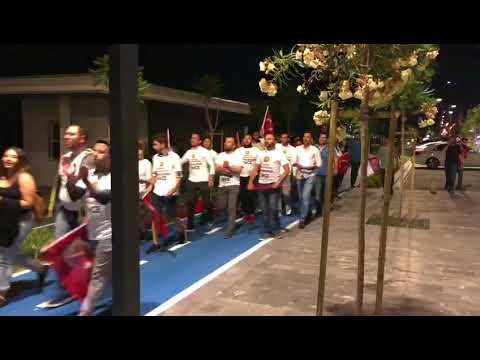 CHP'li gençler yürüdü