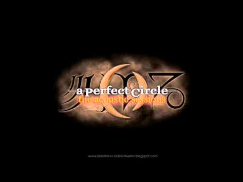 """A Perfect Circle """"Unplugged"""" (Acoustic Sessions)"""