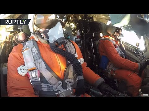 RAW: Russian & Venezuelan pilots continue joint drills
