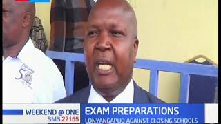 West Pokot stakeholders in preparation for national exams