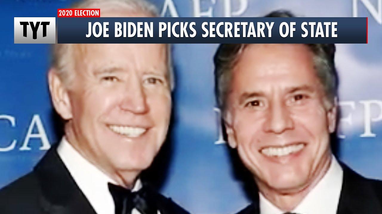 Joe Biden Names Secretary of State thumbnail