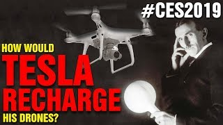Wireless Drone Charging, WITHOUT LANDING! (for real)