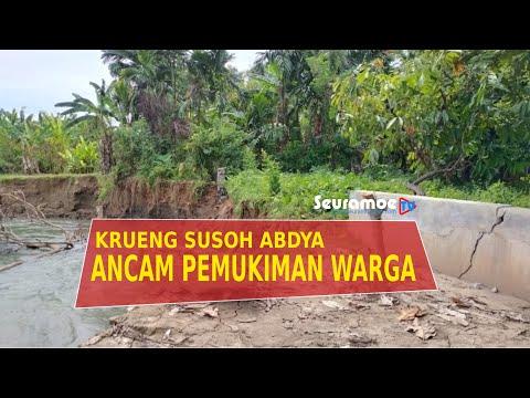 VIDEO - Erosi Krung Susoh Ancam Pemukiman Warga