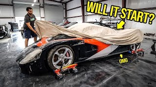 I Bought A WRECKED 800-HP Supercar You