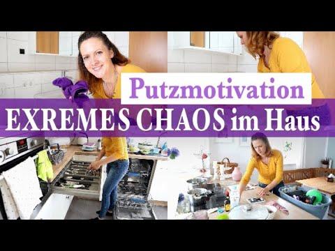 EXTREMES CHAOS !!! | PUTZROUTINE vom Haus & HAUSHALTSTIPPS | Haushalt aufräumen  |Clean withe me !!!