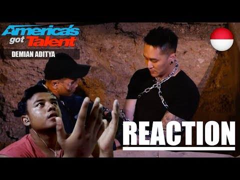 REACTION | DEMIAN ON AMERICAN GOT TALENT (2nd Performance) (видео)
