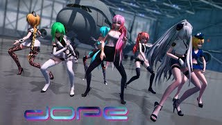 ≡MMD≡ Dope [4KUHD60FPS] [Eng Sub]