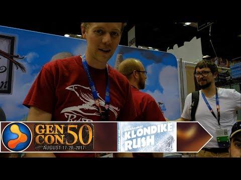 Klondike Rush Preview - GamerNode at Gen Con 2017
