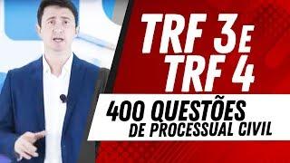 Concurso TRF 3 E TRF 4: 400 Questões De Processual Civil