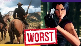 10 worst video games of 2018 (so far)