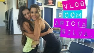 Vlog - Levando a Aricia Silva no aeroporto.