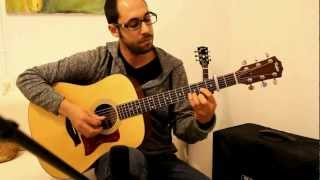 Tommy Emmanuel - Angelina | cover by Itamar Hazi Shalev