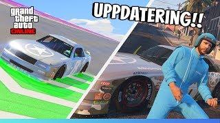 NY UPPDATERING TILL GTA 5 ONLINE! NASCAR-DLC | KOLLAR IN ALLT NYTT!
