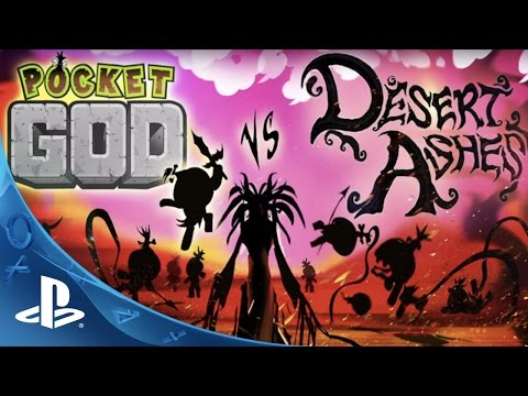 Pocket God vs Desert Ashes Trailer | PS4, PS Vita thumbnail