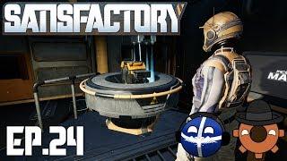 Satisfactory Multiplayer Ep#24: Vertical Conveyors