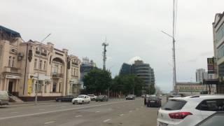 ГОРОД ГРОЗНЫЙ  УЛИЦА ЛОРСАНОВА (КРАСНЫХ ФРОНТОВИКОВ) 20 05 2017