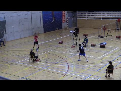 Badminton. Estella. Pistas 5, 6, y 7 Máster Nacional Absoluto 7* y Sub 11 5*
