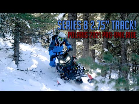 2022 Polaris 850 PRO RMK Axys 155 2.75 in. Factory Choice in Milford, New Hampshire - Video 1