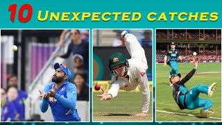 10 Unexpected catches in the History of Cricket | Simbly Chumma