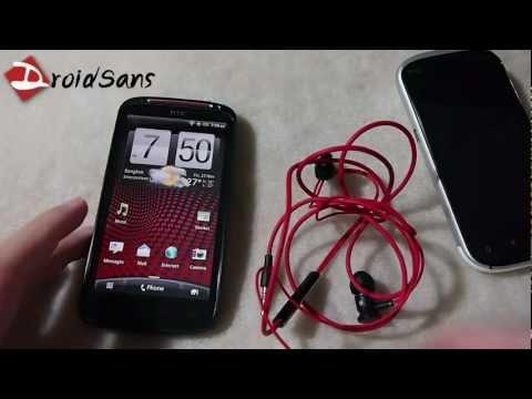 DroidSans Review : hTC Sensation XE and Amaze 4G (in Thai)