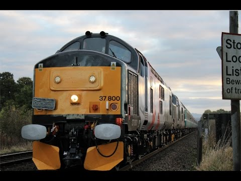 37800, 37884 & 47815 with 'The Class 37/8 Thrash Bash' at Nu…