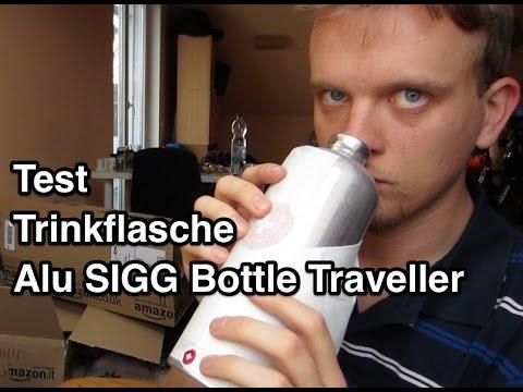 Test SIGG Alu Bottle Traveller 1.0 l Trinkflasche   Sigg Trinkflasche   Trinkflasche Alu Test