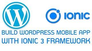 Wordpress Ionic App #5 Fetch Posts from Rest Api Json