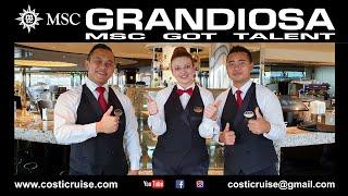 MSC GRANDIOSA VIRTUAL Tour SKY LOUNGE