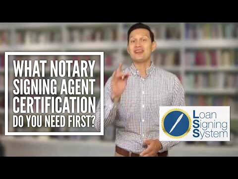 Which Notary Public Loan Signing Agent Certification Should You ...