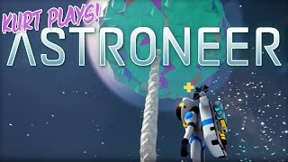 Kurt Plays ASTRONEER - 12 - Sending a Rover to Orbit