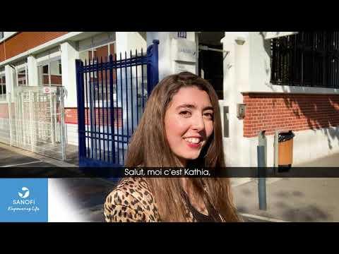 Video Sanofi en mode selfie - Kathia