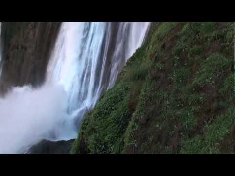 Marokko Ouzoud waterfall