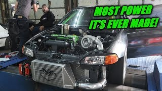 Turning Up The Grinch To NEARLY 1000HP!