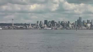 Biggs killer whales - T100s & T101s- Puget Sound - Apr 15, 2017 (HD)