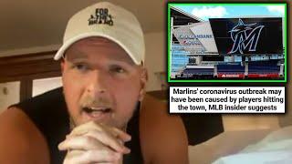 Pat McAfee Talks The Marlins Virus Situation