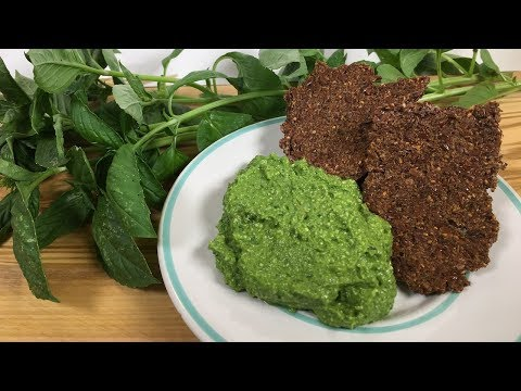 Plant Based Vegan Basil Pesto: Whole Food Plant Based Recipes