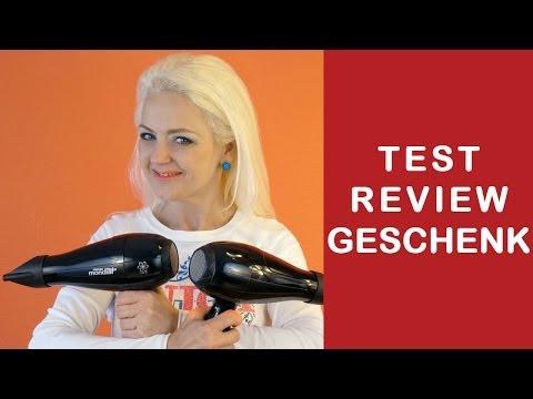 Haartrockner Föhn Fripac Mondial •Test • Review • Geschenk | Wettbewerb mit Verlosung