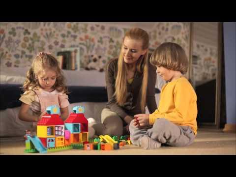 Утро с LEGO® DUPLO® - Мой первый игровой домик
