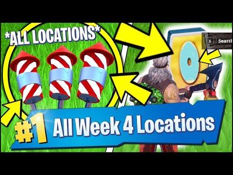 Launch Fireworks Week 4 Challenge Fortnite Season 7