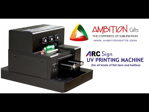 Arc Sign UV Printing Machine A4