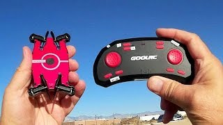GoolRC T49 720p HD FPV Selfie Drone Flight Test Review