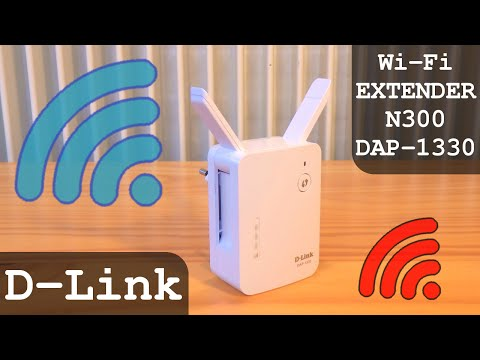 D-Link Wi-Fi Extender N300 DAP-1330 300Mbps | Full Tutorial | Configuration - Settings - Unboxing