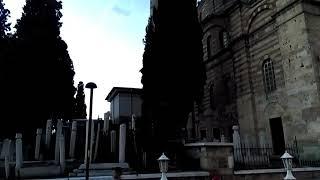 Bursa Emir Sultan Hazretleri Camisinde Akşam Ezanı