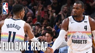 PACERS vs NUGGETS | Indiana & Denver Battle Down To The Wire | March 16, 2019